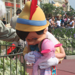 Kissing Pinocchio — 29 Days Til Disney!