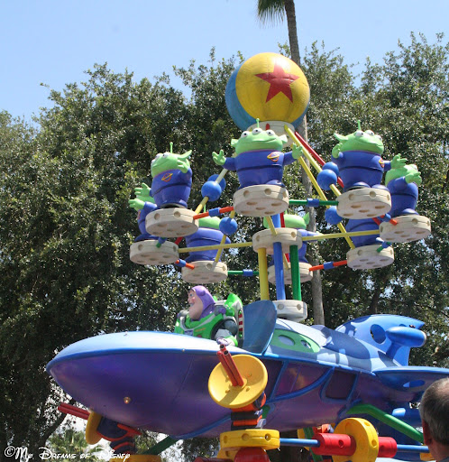 Wordless Wednesday - Pixar Pals Countdown to Fun Parade!