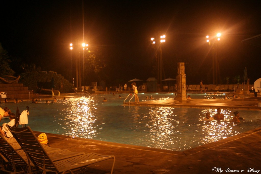 The Coronado Springs Resort main pool is called the Dig Site.