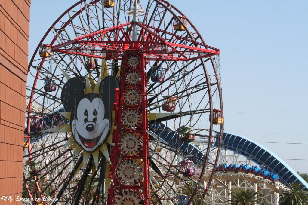 The Balcony at Room 4510 with Mickey's Fun Wheel