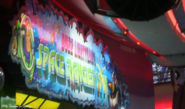 Buzz Lightyear Space Ranger Spin