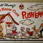 Mickey Mouse Club Push'em Car (Laundry Cart)