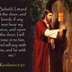 Prayers for the Week – Jesus Knocks